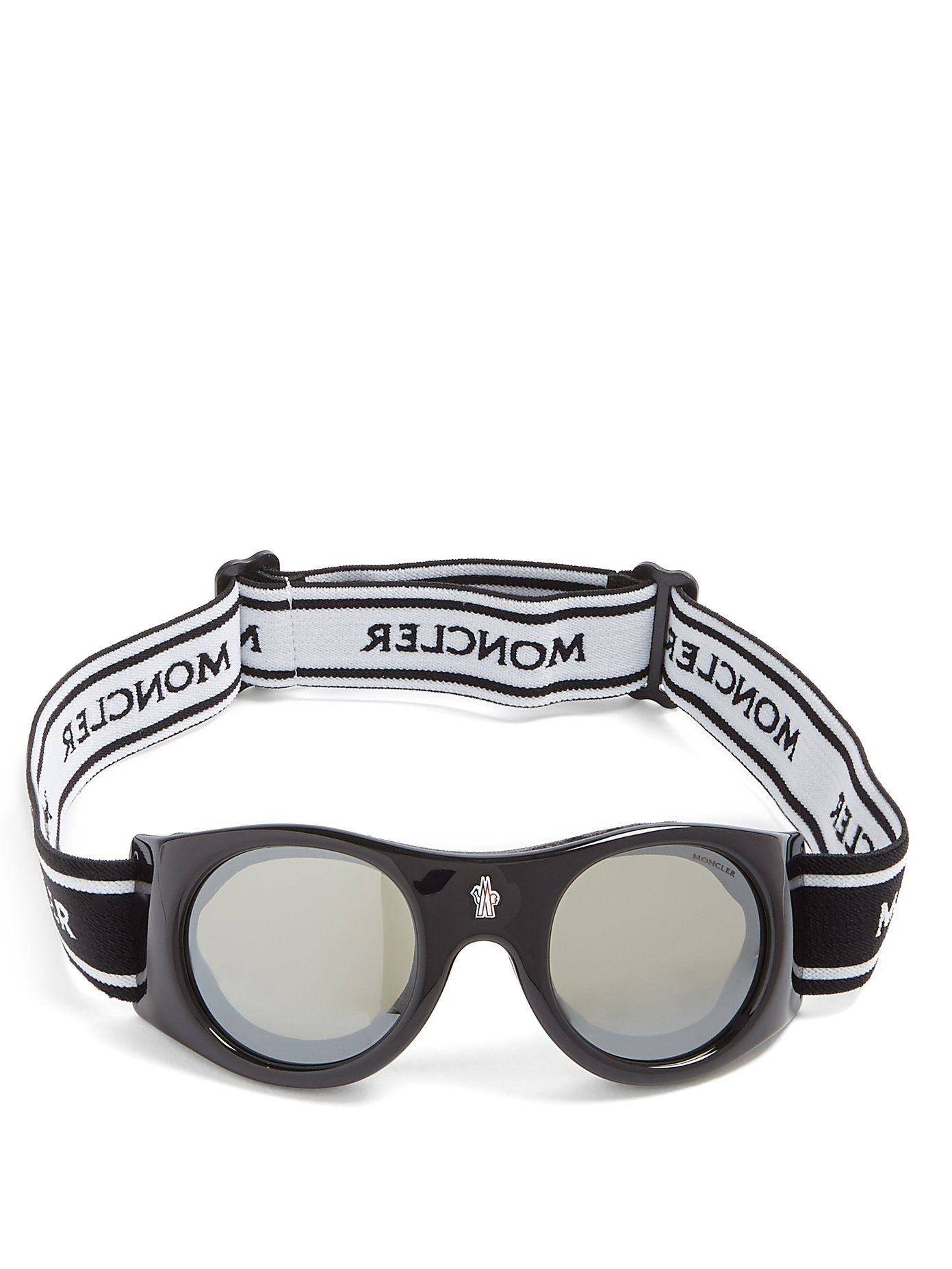 14a3a85f627 Moncler Round-frame ski goggles