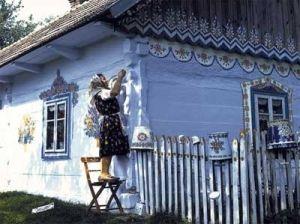 Folk style by emi. tsuboi