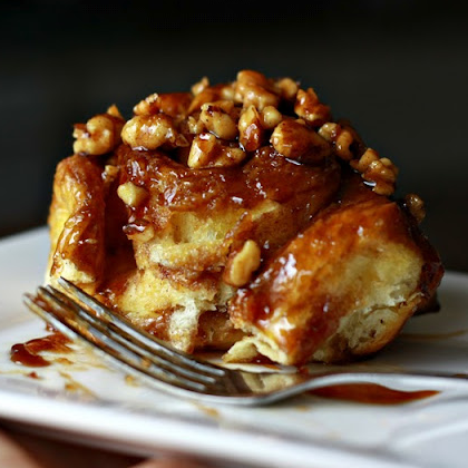 Ah, sticky buns. Who can resist its flaky, pull-apart allure, or the sweet caramel sugar it leaves on your fingertips? Wake up to sticky buns and other phenomenal sugary treats today!The light, sweet scent of these buns baking away in your oven will fill your kitchen with happ