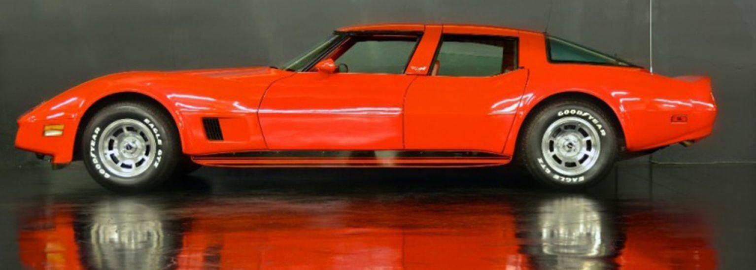 Ultrarare 4door Chevrolet Corvette surfaces for sale in