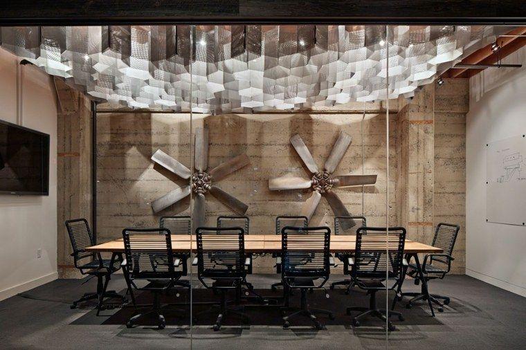 Salle de r union avec design original en 57 id es - Decoration salle de reunion ...