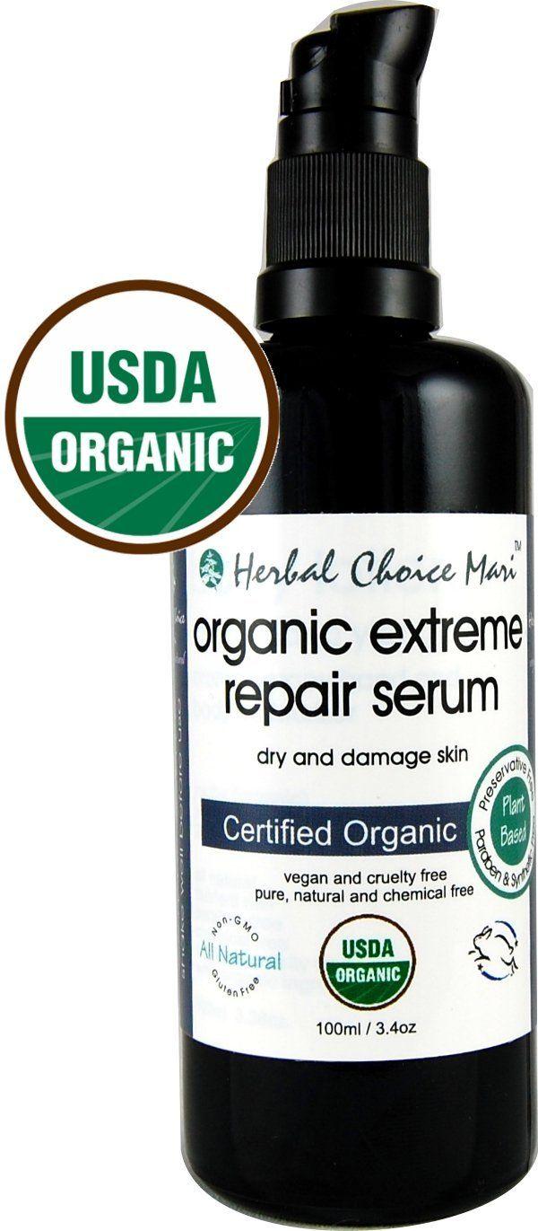 Herbal choice mari organic extreme repair serum dry and damage herbal choice mari organic extreme repair serum dry and damage skin 100ml 34oz glass 1betcityfo Choice Image