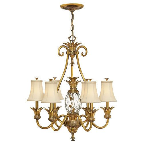 Dining Room A Traditional Burnished Brass Chandelier Or Modern One With Parchment Color Drum Shade Will Cast Warm Light Over The Scene