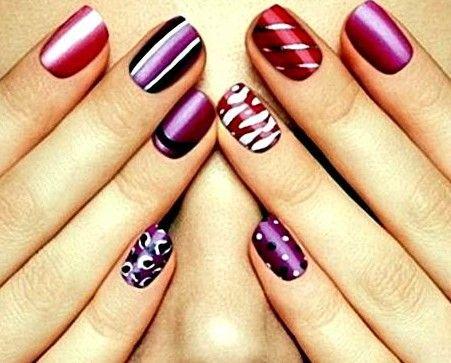 Nail Polish Design Ideas For Short Nails