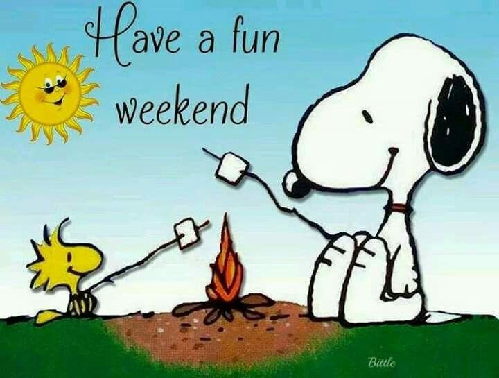 Weekend. | Snoopy, Frases interessantes, Pensamentos