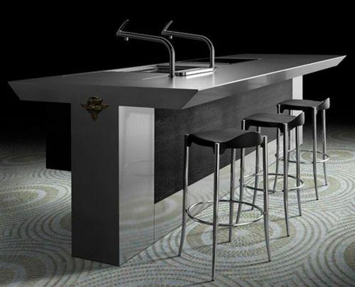 Exzentrische schicke küchen möbel sammlung von toyo entworfen