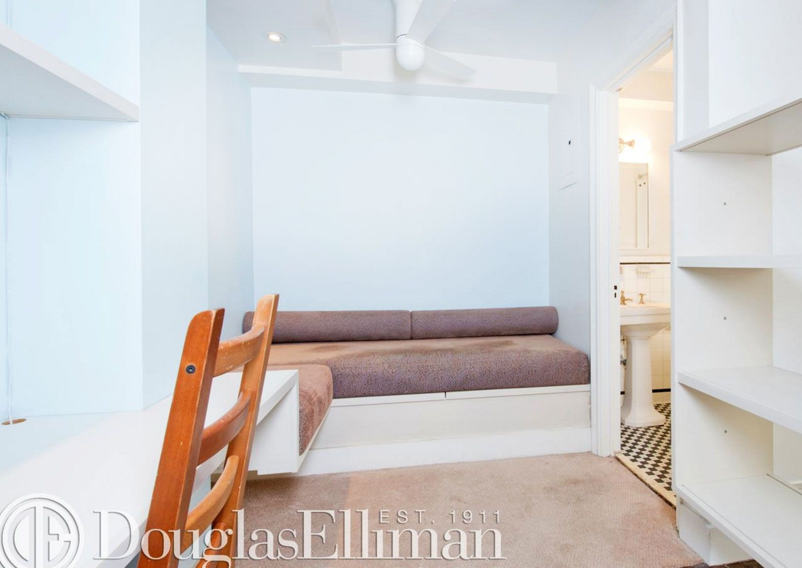 Miniature Manhattan Studio Comes With Pre Installed Murphy Bed And Lots Of Built In Storage Built In Storage Tiny Apartments Murphy Bed
