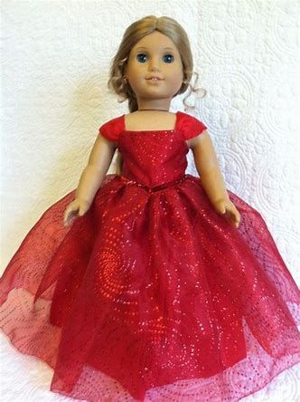 Image result for american girl doll merry and bright gown #americandolls