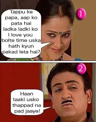 Taarak Mehta Ka Ooltah Chashmah is an Indian sitcom based on