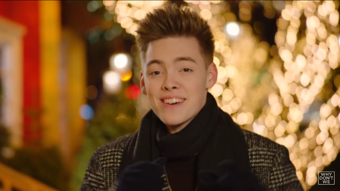 can i kiss you this christmas zach herron