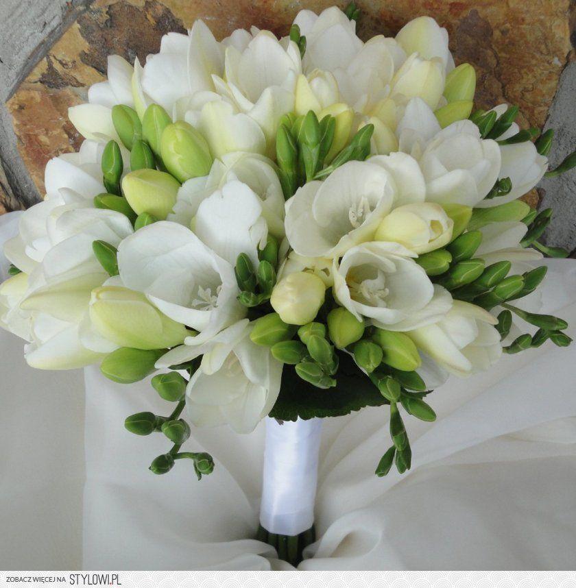 Jaskier Bialy Bukiet Szukaj W Google Freesia Wedding Bouquet Pink Wedding Flowers Pastel Wedding Flowers