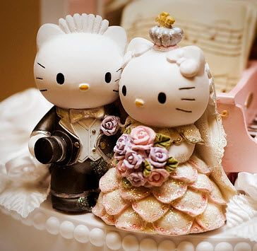 Hello Kitty Wedding Cake Too Stinking Cute