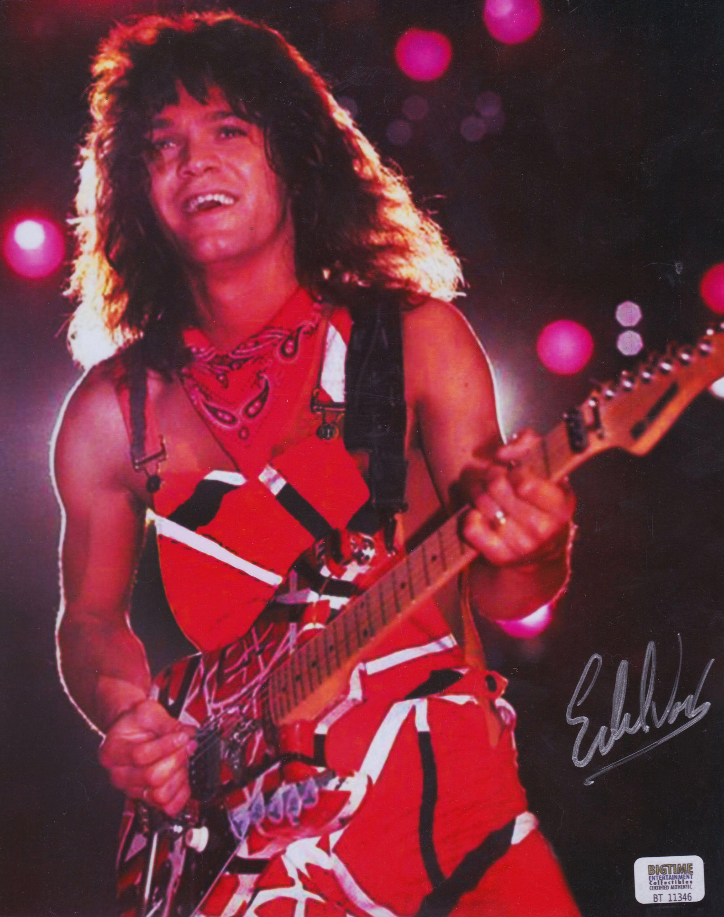 Eddie Van Halen Poster 1983 Van Halen Eddie Van Halen Halen