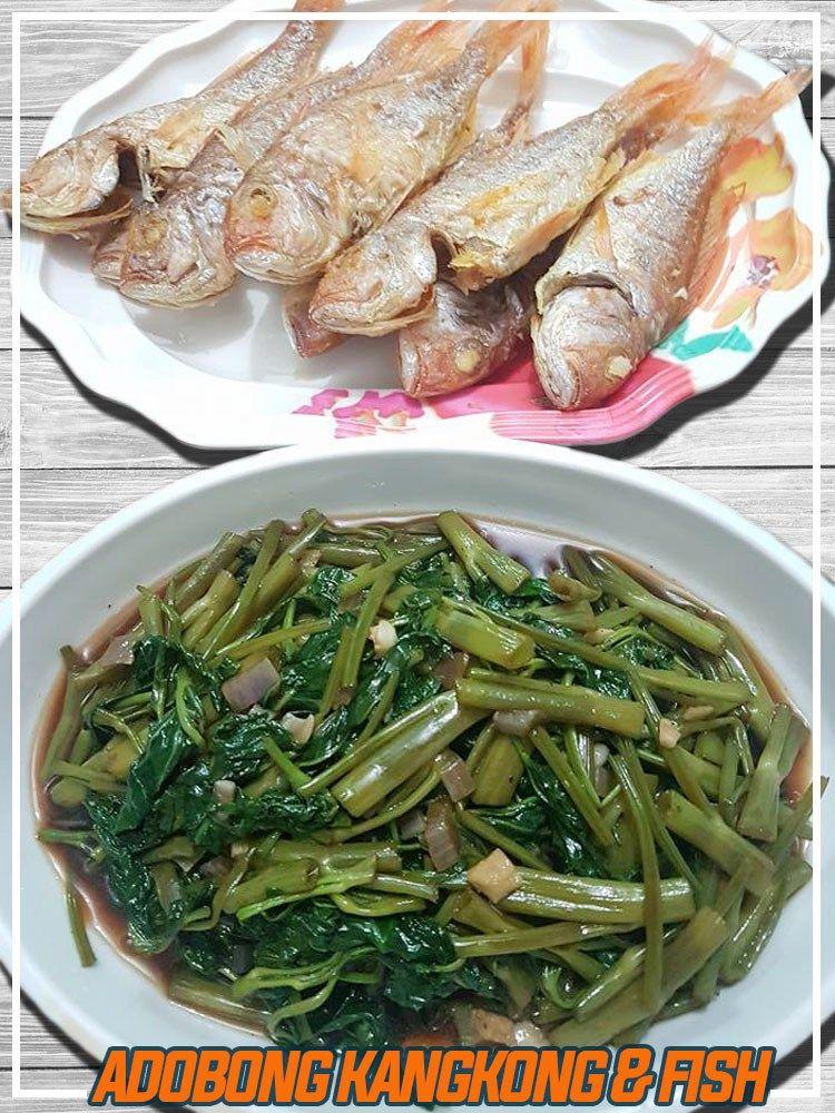 Adobong Kangkong Recipe Recipe Kangkong Recipe Recipes Tofu Nutrition
