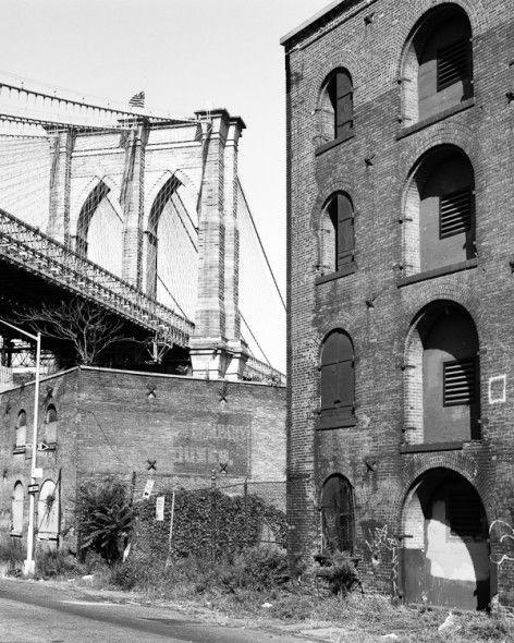 Brooklyn Bridge and Factories (DUMBO)