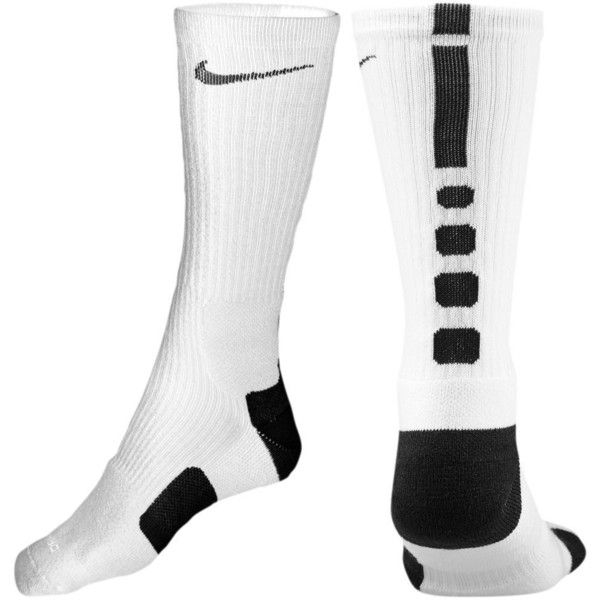 Nike Chaussettes Élite Joueur De Basket-ball Noir Et Blanc eastbay pas cher vente Manchester vente 100% d'origine express rapide qualité escompte élevé WsruftkFxD