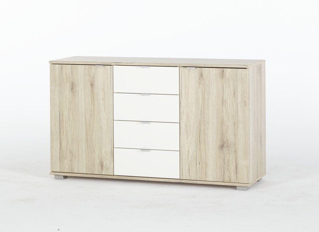 Simple Kommode Sideboard Saturn B cm T ren Schubladen in Farben