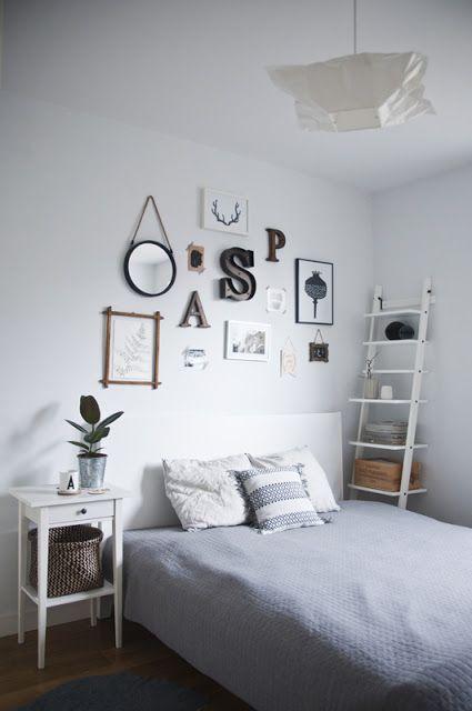 Anicjas White Space Skandynawska Galeria W Sypialni Czyli