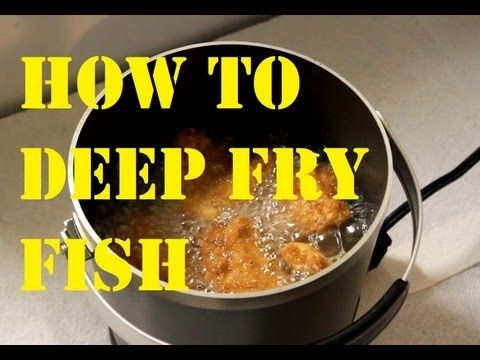 How to prepare Tasty Deep Fried Fish with Cod and Rockfish