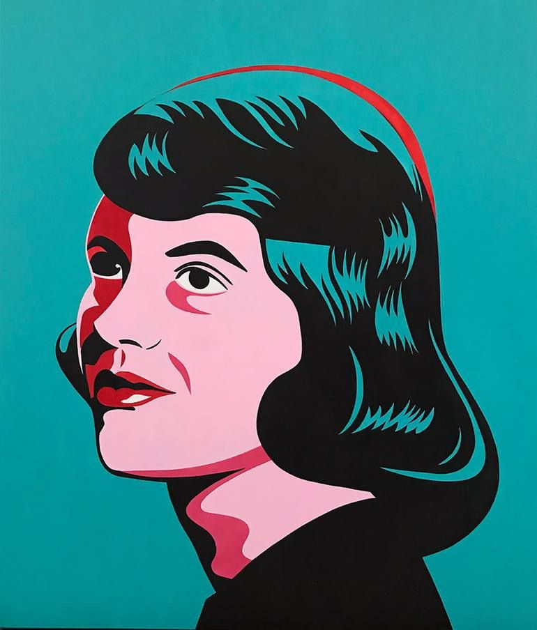 Sylvia Plath Portrait Painting In 2021 Art Celebrity Paintings Portrait Painting