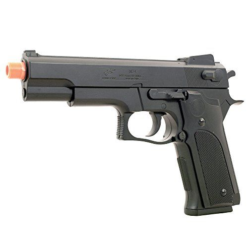 BBTac BTM24 Airsoft Gun Spring Pistol  Powerful 300 FPS Spring Action -- Read more reviews of the product by visiting the link on the image.