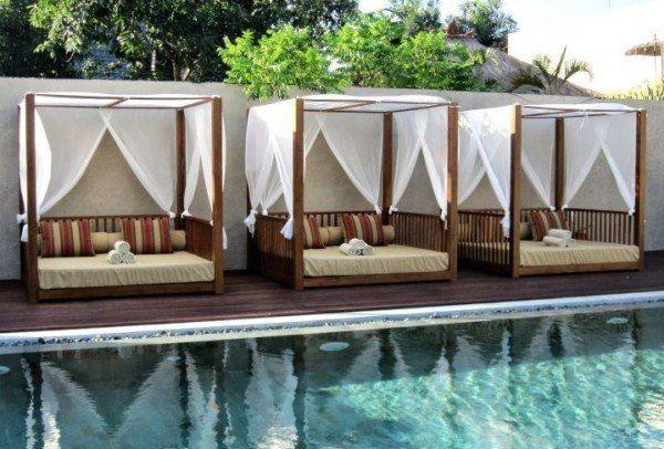 camas balinesas5 daybed outdoor pinterest terrasse ideen himmelbett und outdoor. Black Bedroom Furniture Sets. Home Design Ideas