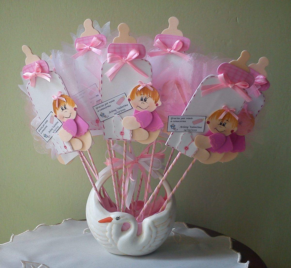 Recuerdos para baby showers baby shower pinterest - Lamparas con goma eva ...