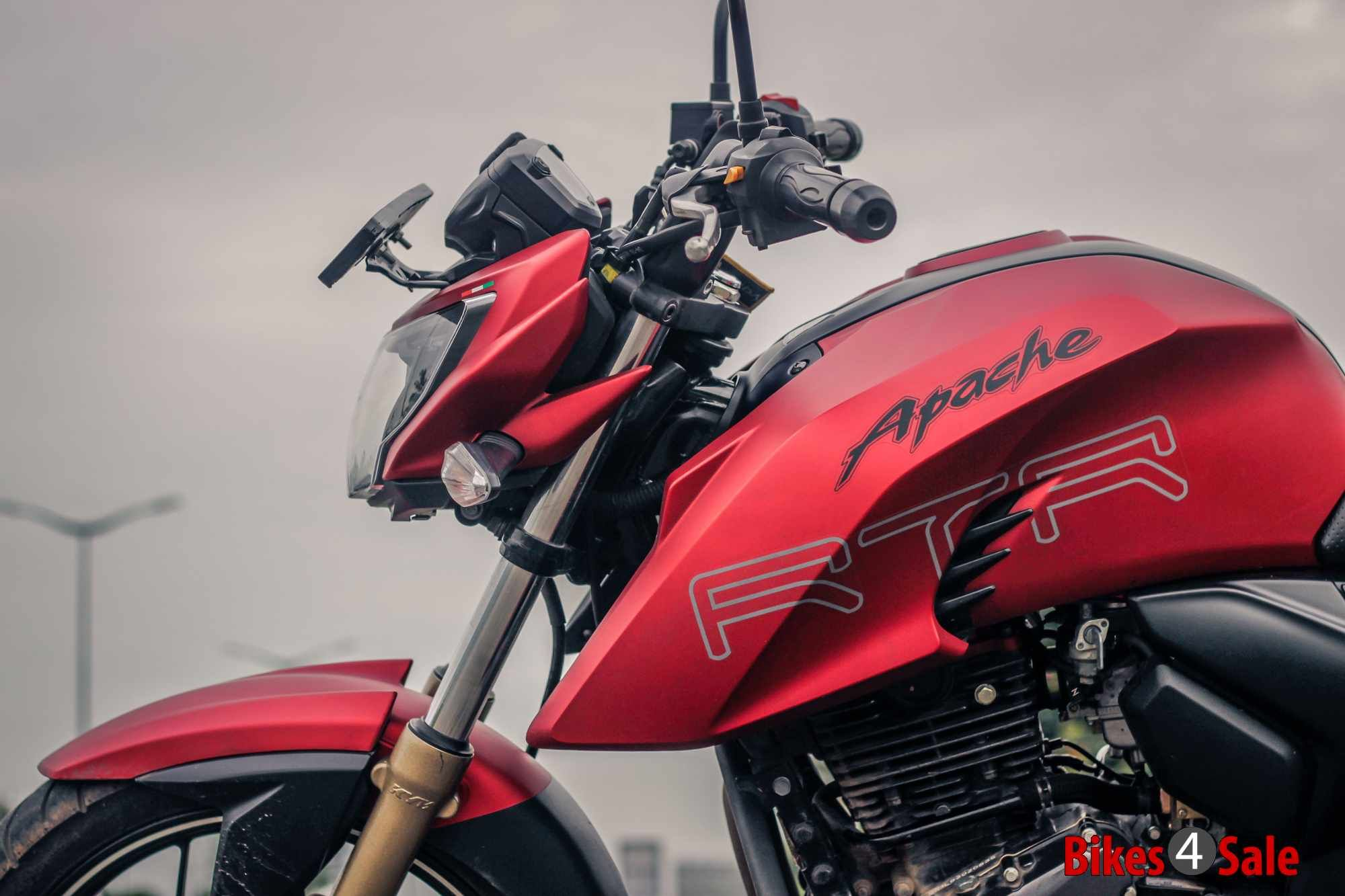 Pictures Of Tvs Apache Rtr 200 4v Motorcycle Photo 11 Download