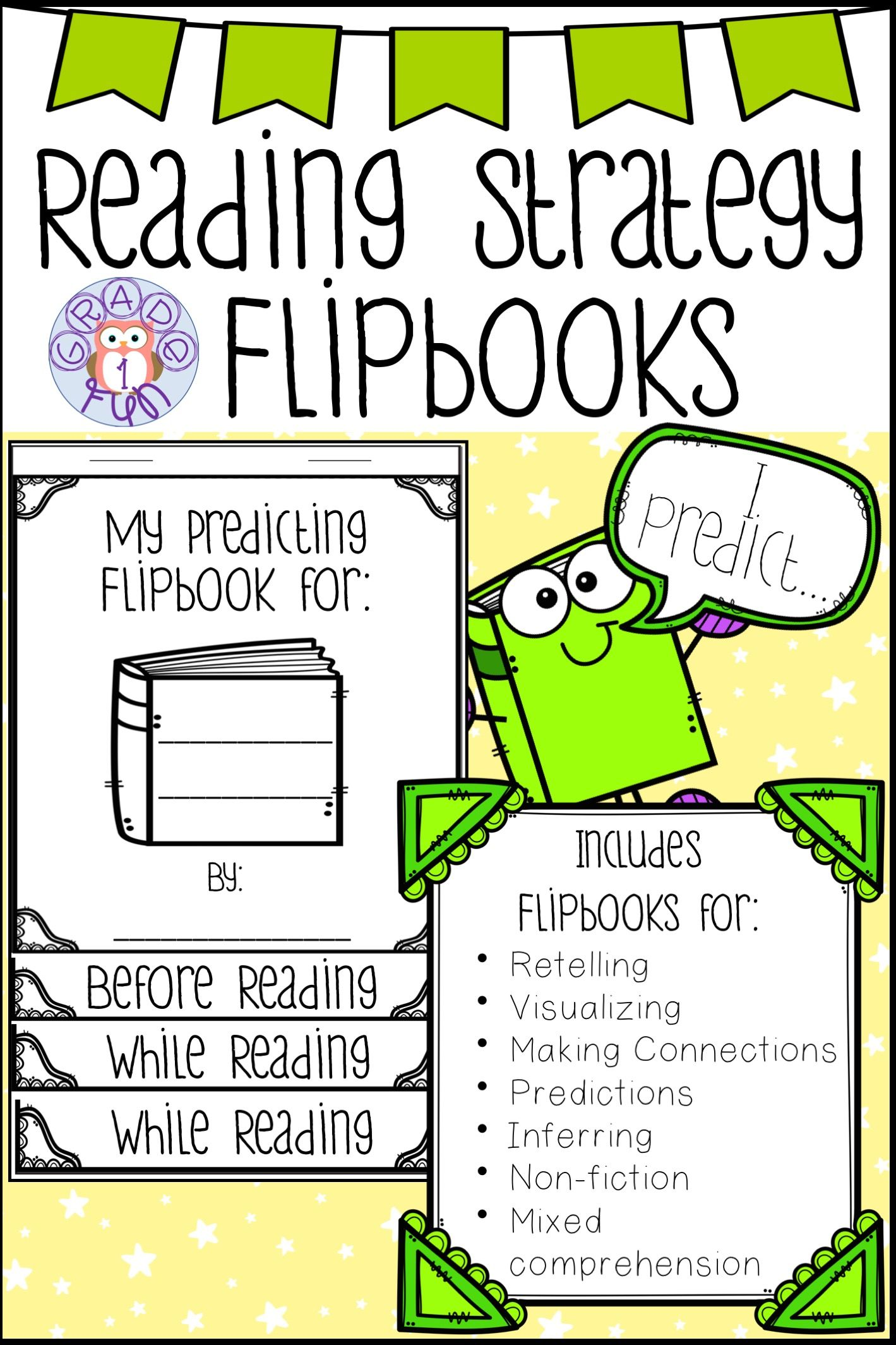 - Reading Strategy Flipbooks (With Images) Reading Strategies