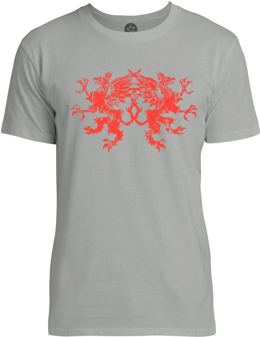 Griffins (Red) Mens Fine Jersey T-Shirt