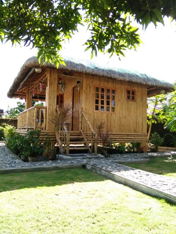 Nipa Hut Catanduanes Philippines Bamboo House Design Hut House House Design Pictures