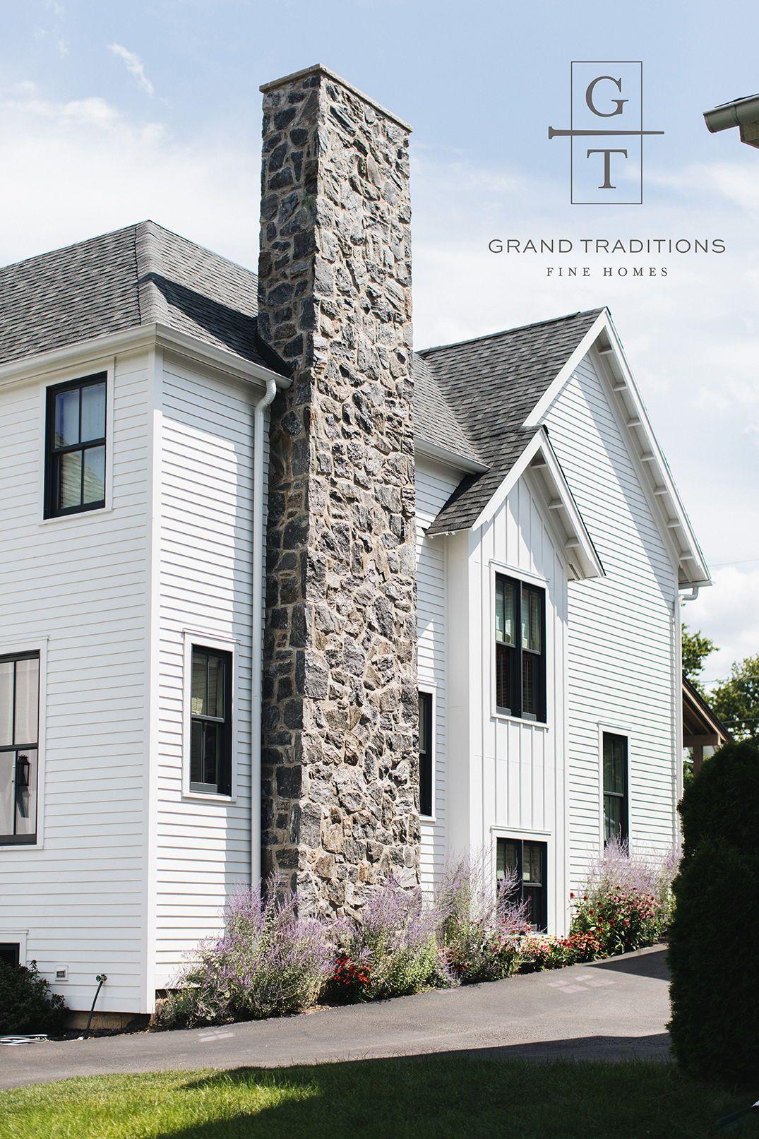 Grand Traditions Custom Home Barrington Il House Exterior Facade Design Exterior House Colors