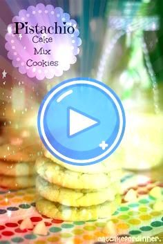 Cake Mix Cookies for St Patricks Day  Recipes Pistachio Cake Mix Cookies for St Patricks Day  Recipes  Soft and chewy pistachio cookies made with cake mix and pudding mix...