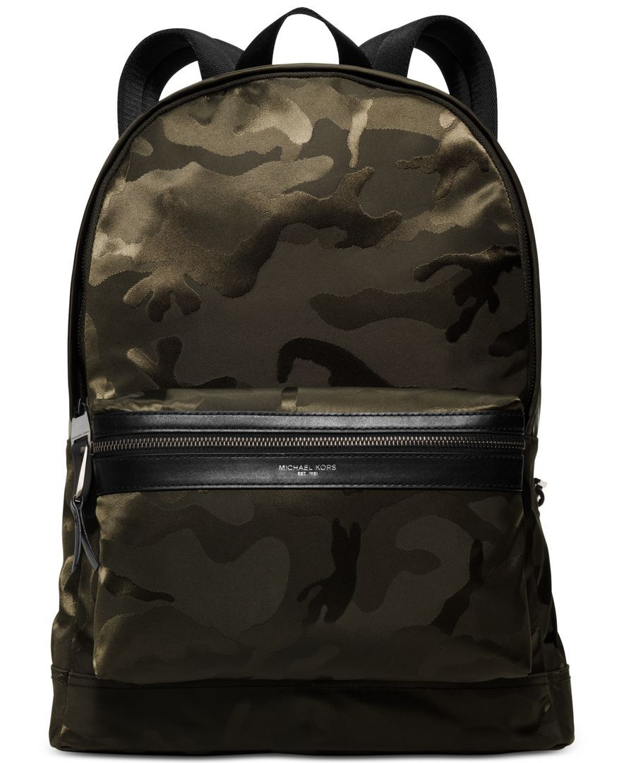 c1b37677ca3d Michael Michael Kors Men's Kent Camo Backpack | Done Properly: Camo ...