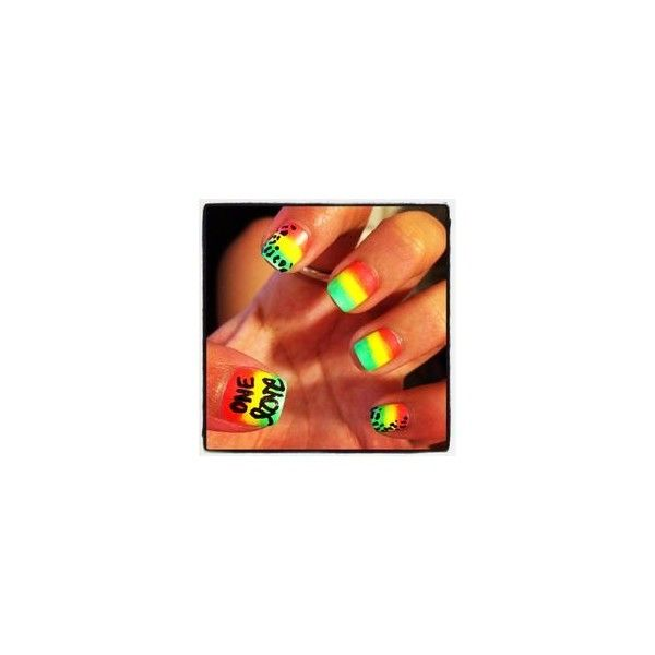 Libby Clarkson ❤ liked on Polyvore featuring nails