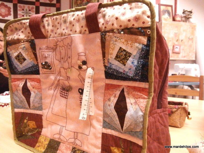 Bolsa para máquina de coser