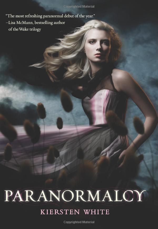 evie can see through any glamour, uses a pink taser, and has a mermaid for a best friend. yeah, i want to be friends with evie, too. especially if she's the only person who can stop the end of all paranormals as she knows it. [paranormalcy by kiersten white]