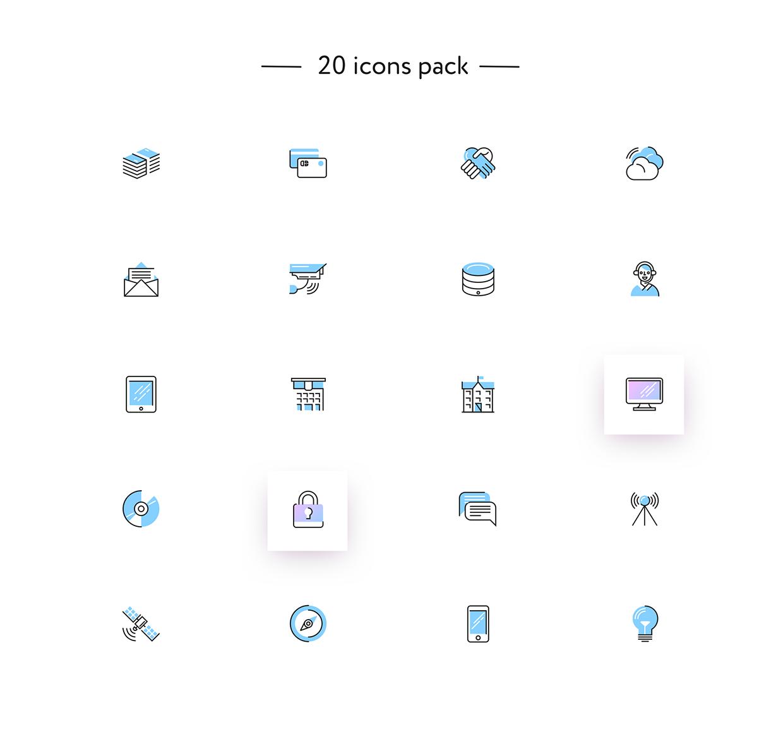 7c0c5b54705545.596785bfb9497.png (1240×1189) Icon set