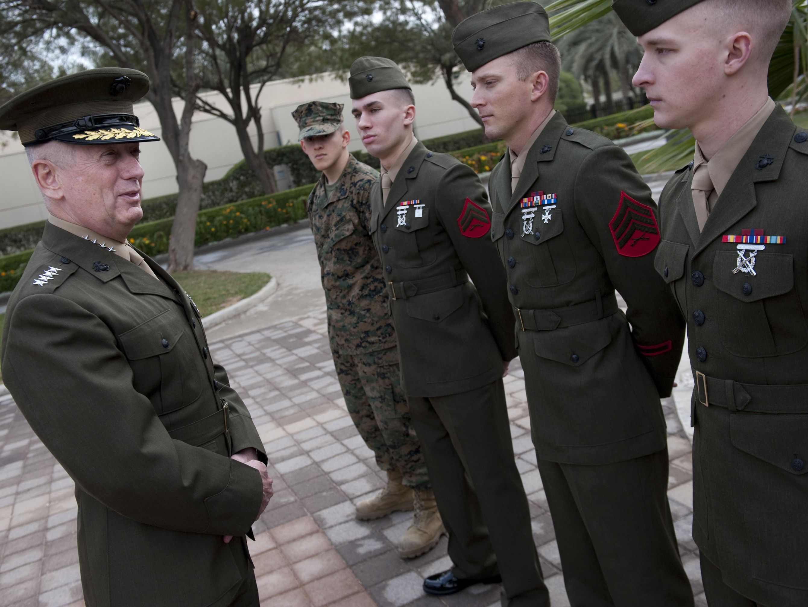 Legendary Marine General Jim Mattis On What Makes This Generation