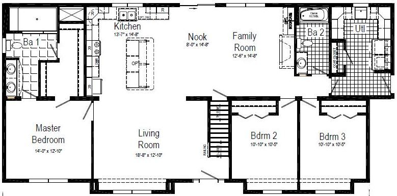 The garfield modular home for sale by american homes cny