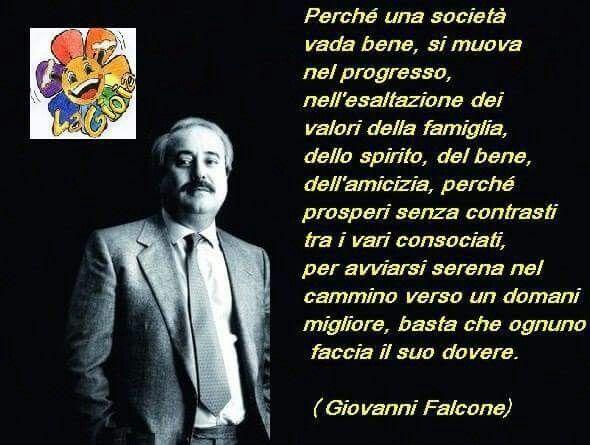 Giovanni Falcone Citazioni Scrittori Riflessioni
