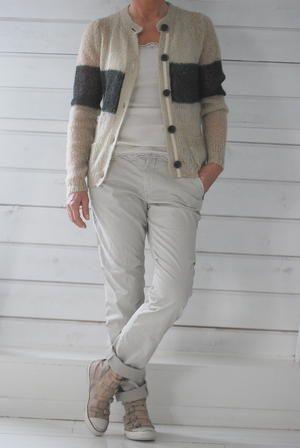 Must recreate that sweater. MOS MOSH - CHERYL CARGO DECO  - KIT