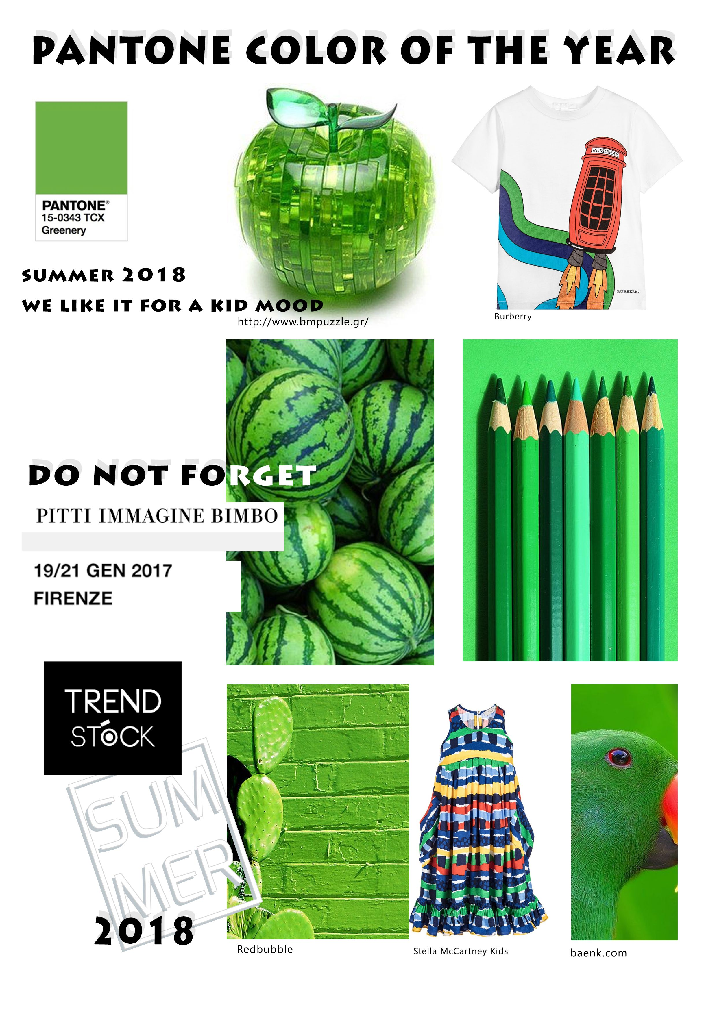 Pantone s colour of the year 2017 greenery in kids rooms - Are You Thinking About Kids Trend Forecasting In Trend Stock You Can Find The Last Layette Trend And Many Kids Trend Forecasts Pantone Colours