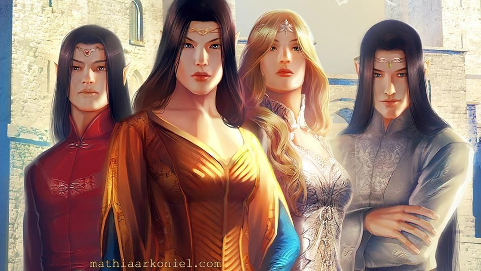 Lord Evarrium, Lord Teela, The Consort and Lord Nightshade