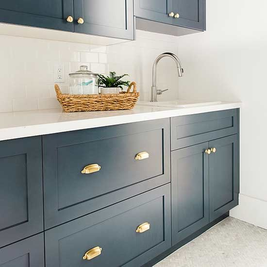 p\u003eWe\u0027re loving these popular paint color trends for cabinets and