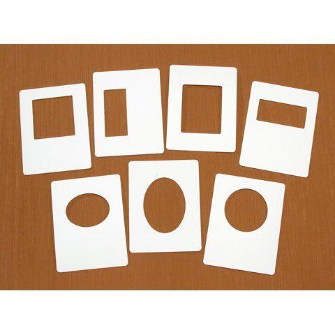 Bulk Buy Darice DIY Crafts EZ Frames Assorted for Embossing 7 pieces ...