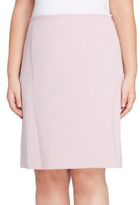 e23ab44bb4 Tahari Arthur S. Levine Plus Ponte Pencil Skirt   Products   Skirts ...