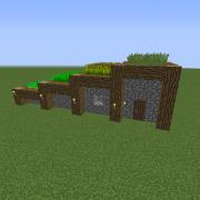 Survivalist farm house grabcraft your number one source for minecraft buildings blueprints tips ideas floorplans also rh pinterest