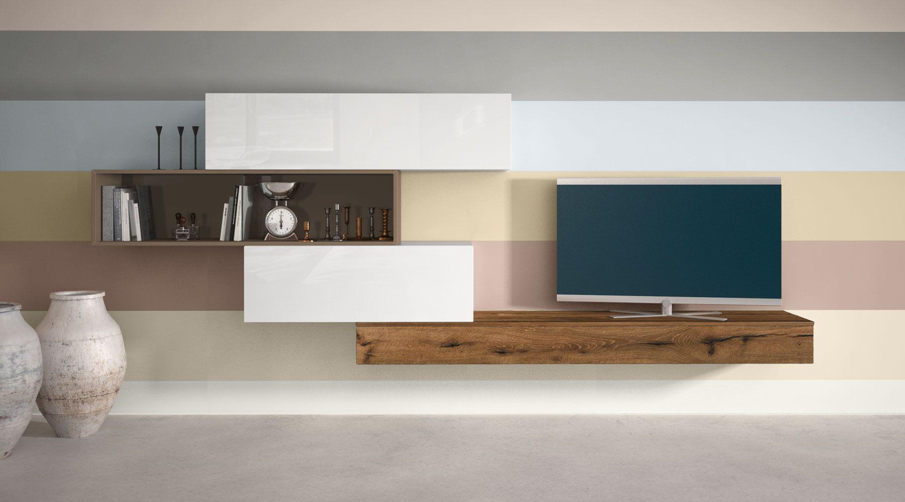 Sistema 36e8 arredamento arredamento salotto moderno e for Decorazioni per pareti soggiorno