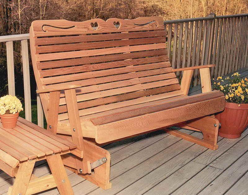Wood Porch Gliders Treatment Http Lanewstalk Com